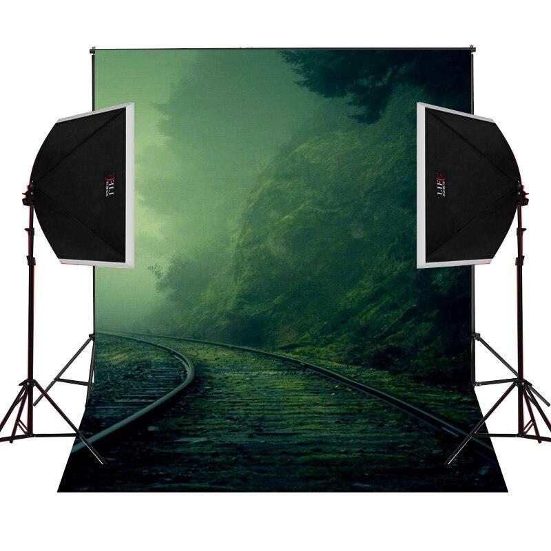 Moriyama Railway Smog scenic for photos camera fotografica studio vinyl photography background backdrop cloth digital props