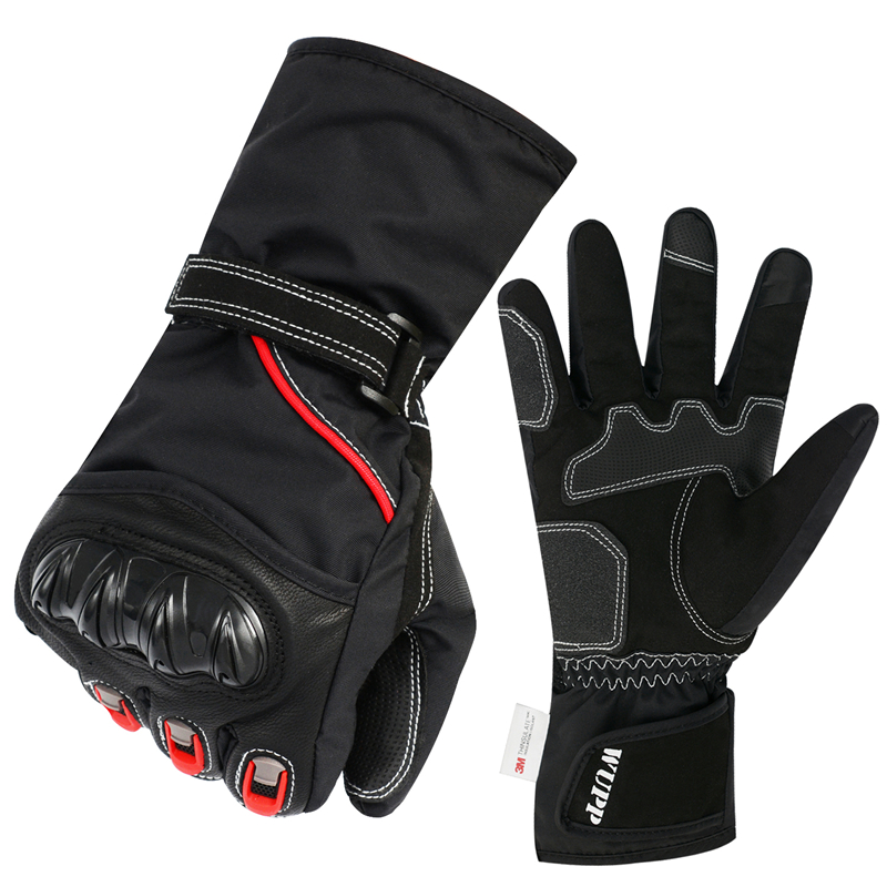 Neue Motorrad Winter Plus Samt Reiten Full Finger Handschuhe Touch Screen Anti-skid <font><b>Kawasaki</b></font> off-Road Racing Handschuhe image
