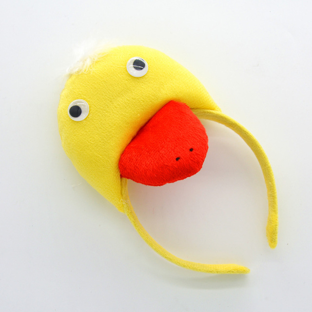 Animal Yellow Red 3D Duck Headband Kids Adults Cosplay Headwear Birthday  Party Hair Halloween Christmas a3b47efb656