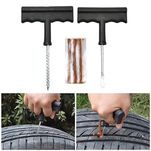 Image 5 - 2020 nowe narzędzie do naprawy opon samochodowych zestaw do bezdętkowych opon awaryjnych szybkie przebicie wtyczki bloku wyciek powietrza ciężarówka/Motobike/Car Accessorie