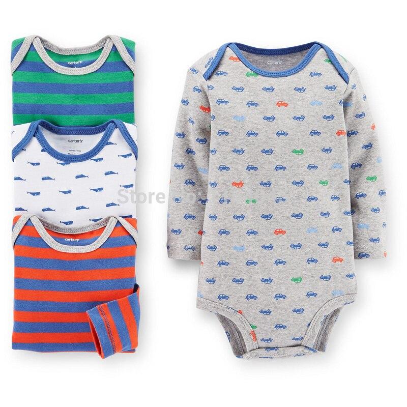 ᑐL4-006, original, nuevo llegado, bebé Niños 4 sola pieza traje ...