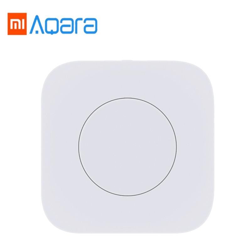 Original Xiaomi Aqara Smart Wireless Switch Key Intelligent Application Remote Control ZigBee wireless for mi home App waveshare core51822 bluetooth 4 0 module wireless for intelligent application