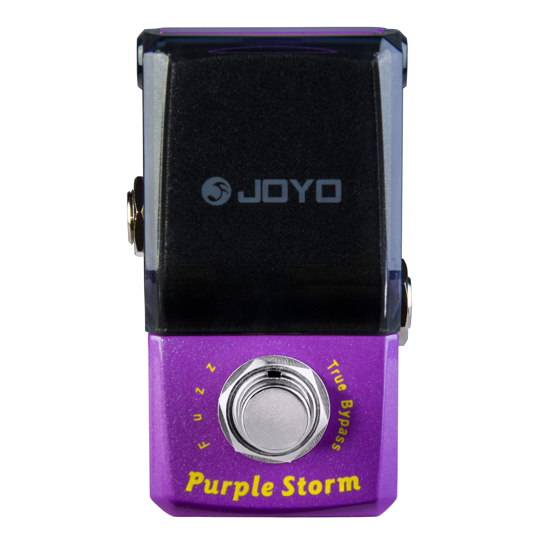 Joyo Ironman JF-320  Purple Storm Fuzz Guitar Effect Pedal True Bypass JF 320 стоимость