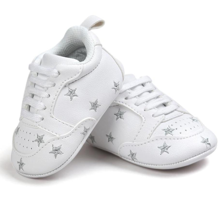 Newborn Baby Five-pointed Star Bandage Soft Sole Shoes Toddler Sneakers Casual Shoes 2018 Classic Casual Baby Shoes
