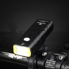 ROCKBROS Bicycle USB Rechargeable Light Cycling Flashlight Waterproof Bike Headlight Front Lamp Bike Accessories 245/400 Lumen