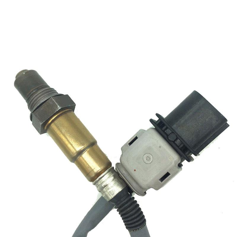 Wideband 5 wire 6pins oxygen sensor lambda Probe o2 sensor for AUDI A8 Q7 A4 Q5 OE#: 0 258 017 154 0258017154 o2 lambda sensor square corners hanging antique copper 2 candelabra sockets clear glass