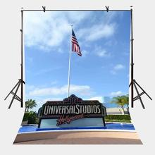 5x7ft Hollywood Studios Backdrop Famous Universal Photography Background and Studio Props