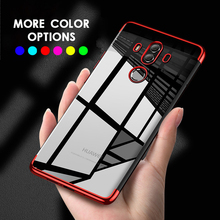 Phone Case For Huawei P20 lite Luxury Soft Silicone Transparent Plating Cover Pro cqoue capa