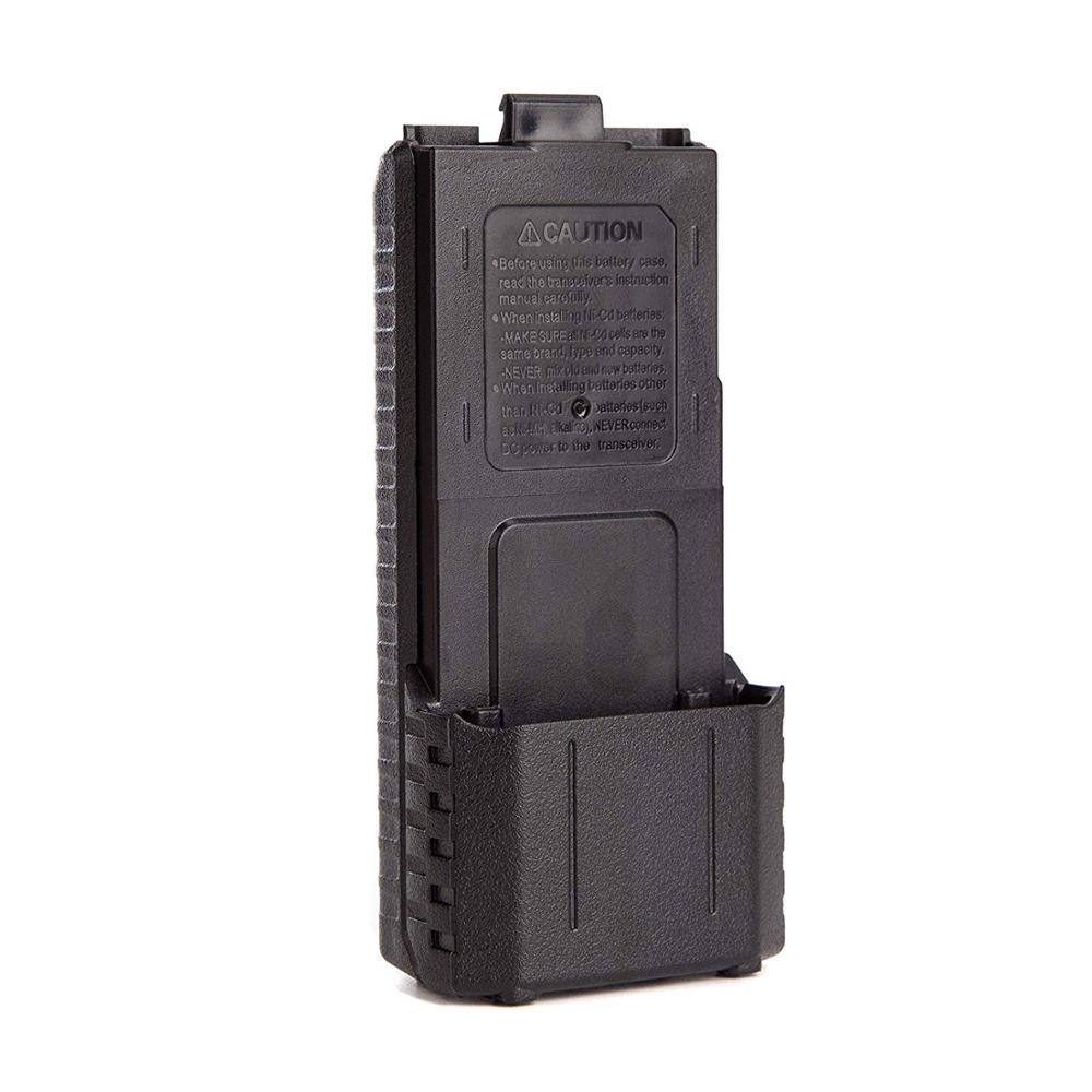 Baofeng UV-5R 6xAA Battery Case Walkie Talkie Battery Shell For Portable Two-Way Radio Backup Power Bank For UV-5R UV-5RE UV-5RA