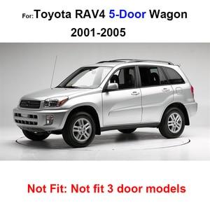 Image 5 - MISURA PER TOYOTA RAV4 BOOT MAT POSTERIORE TRONCO 2001 2002 2003 2004 2005 LINER CARGO FLOOR VASSOIO PROTECTOR Accessori