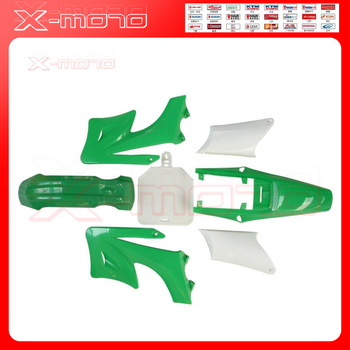 Kit de cubierta de plástico para bicicleta Dirt Bike, carenado de plástico para Motocross Orion Pit Bike 110 125 140 150 200CC, color verde Apollo 27