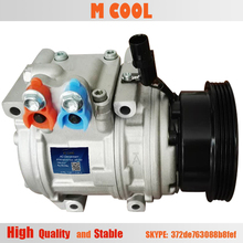 New AC Compressor For Hyundai tucson Tucson Kia Sportage w/2.0L Engines 2005 2006 2007 977012D700 97701-2D700 98373