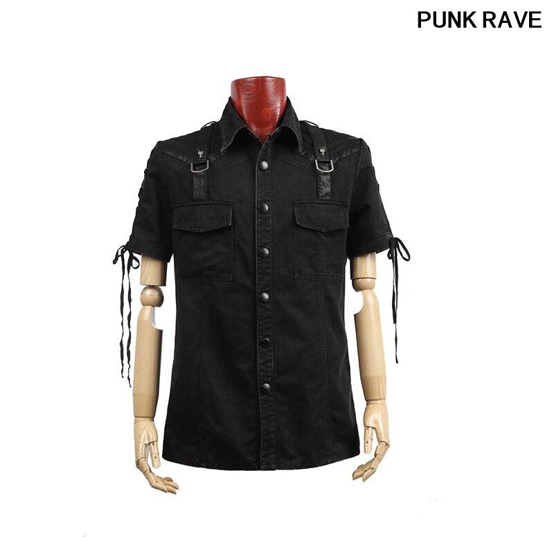 Готическая новая рок повязка черная уличная крутая футболка модная визуальная Kei Heavey металлическая Черная Мужская футболка L 3XL Панк рейв Y 530