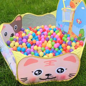 Image 3 - Basen z piłeczkami z koszem zabawka dla dzieci piłka oceaniczna Pit Baby kojec namiot zabawki na zewnątrz dla dzieci Ballenbak