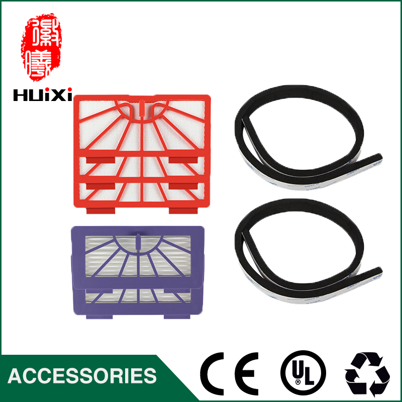 Healthy HEPA Filter & Rubber Bumper Guard Strip Good Quality for Vacuum Cleaner Parts for XV-11 XV-12 XV-14 XV-15 XV-21 фен elchim 3900 healthy ionic red 03073 07