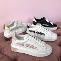OLN 2018 Весна Модная брендовая повседневная обувь Туфли без каблуков Для женщин обувь на платформе Удобная дышащая женская обувь высокого кач