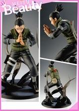 Naruto Action Figures Nara Shikamaru Japanese Anime Figure Naruto Shippuden Movie Figure PVC Toys Naruto 160mm
