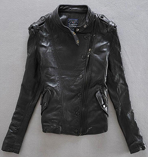 Voar renascimento steampunk vôo jaqueta de pele de carneiro colarinho slim jaqueta de couro piloto mortorcycle blazer das mulheres do sexo feminino