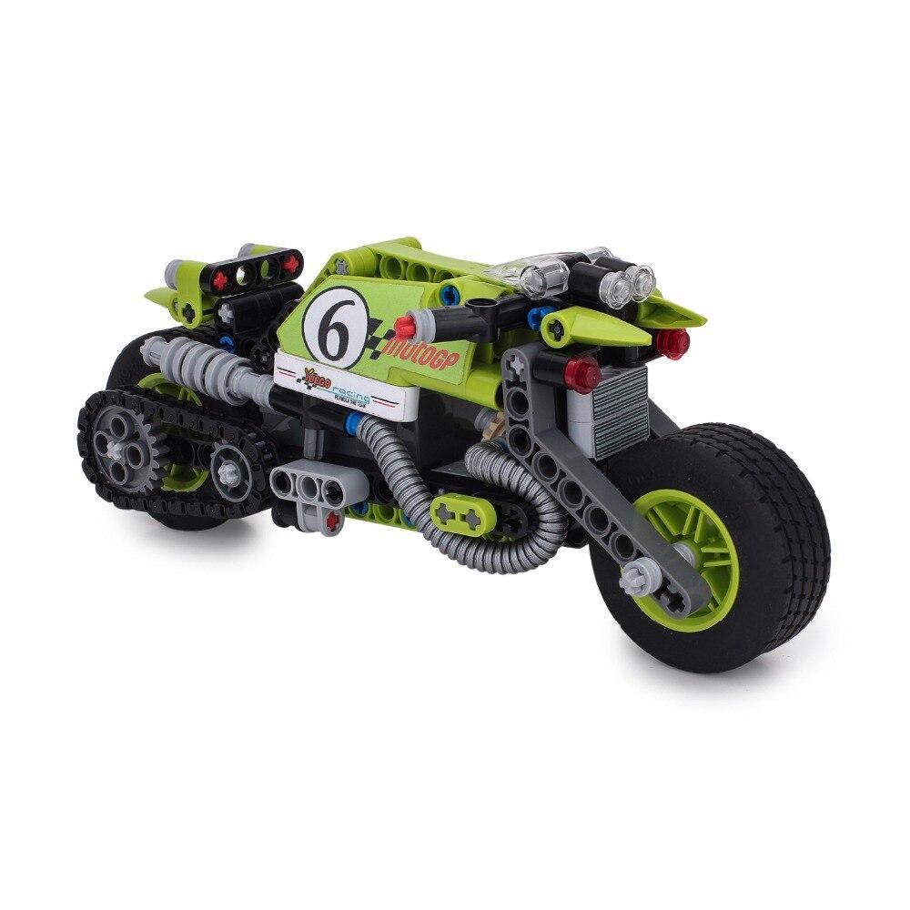 11352366c2a YunNasi Motocicleta Conjuntos de Blocos de Construção do modelo Do Motor  Bloco de Construção de Tijolos