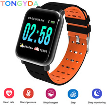 Get more info on the A6 Women Men Smart watches Waterproof Sport For IOS Android phone Smartwatch Heart Rate Monitor Blood Pressure Functions pk IWO