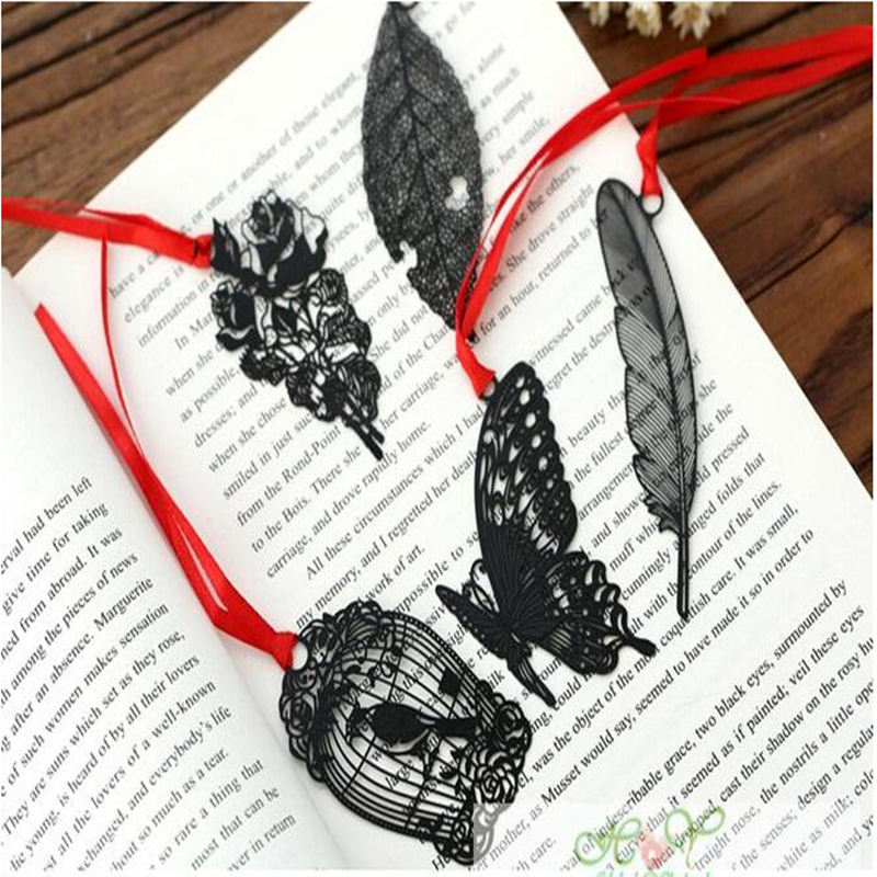 1 Pcs/lot Cute Metal Hollow Bookmark Book Holder Bookmarks For Book Holder Promotional Gift School Supplies