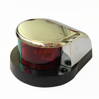 1 Piece Marine Boat Yacht Bi-Color Signal Lamp 12V LED Bow Navigation Light
