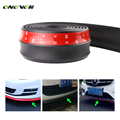 2.5M Car Styling Front Bumper Lip Side Skirts Spoiler Door Protector Rubber Splitter Cover Valance Chin Kit Guard Deflector Body