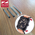 2 peças/set 34mm Hexágono interno relógio tubo parafuso de parafuso da haste bar para sino ross AVIATION BR 01 crânio 46mm assistir BR 01-92 NO AR