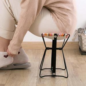 Image 4 - กลางแจ้งพับเก้าอี้พับเก้าอี้สตูลตกปลารถไฟ Bench เก้าอี้ชายหาดแบบพกพา 1 กระเป๋าเก็บฟรี