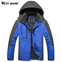 Men Winter Waterproof Windproof Hooded Jacket Outdoor Sport Warm Large Size Camping Hiking Cycling Mountain Climbing