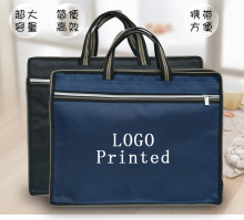 Printing customized printing logo advertising archive bag documents package meeting office custom
