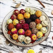 Organic Mix Blooming Tea Balls/Flowering Tea Balls 10 kinds