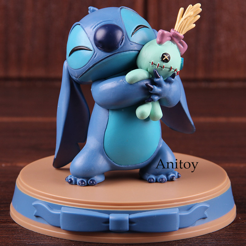 Lilo & Stitch Happiness Moment Stitch And Scrump Beast Kingdom D-Select 004 PVC Kawaii Figure Action Collectible Model Toy
