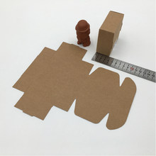 50pcs Brown Kraft Paper Box Packaging Gifts Boxes Christmas Gift Box For Jewellery/candy/wedding Women Jewelry Display Boxes(China)