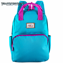 TRANSFORMERS school bags Kids backpack children for boys girls Bright colors canvas casual style light weight