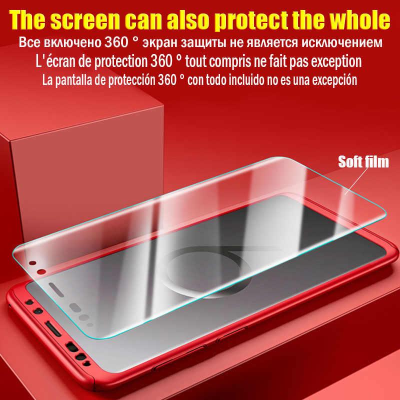 360 Полное покрытие чехол для телефона для samsung Galaxy A50 M20 M10 A10 A30 чехол Note 8 9 S7 S8 S9 S10e S10 Lite A7 A8 A6 плюс 2018 крышка