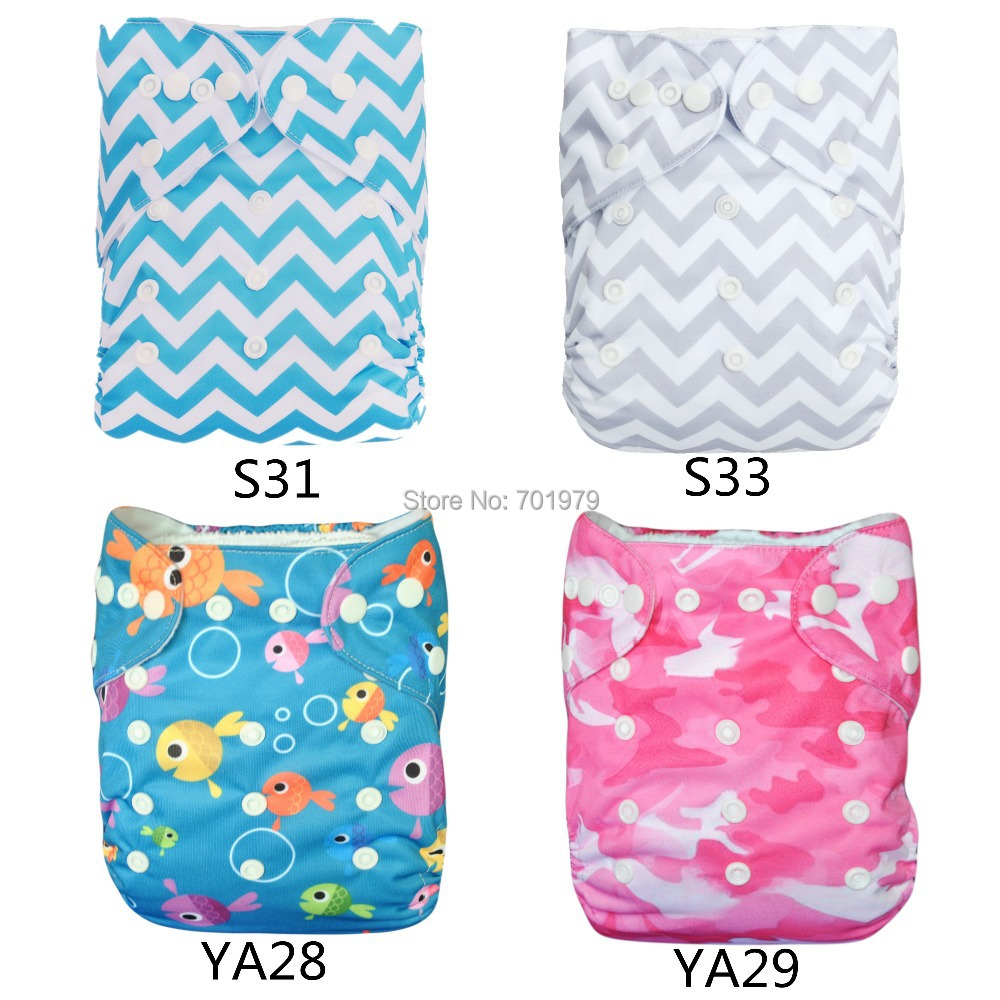20 pieces lot Alva One Size Fits All Wholesale Washable Baby Cloth Nappies with Microfiber