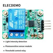 MAX44009 Photosensitive sensor Photoelectric relay module Light intensity detection Serial port computer стоимость