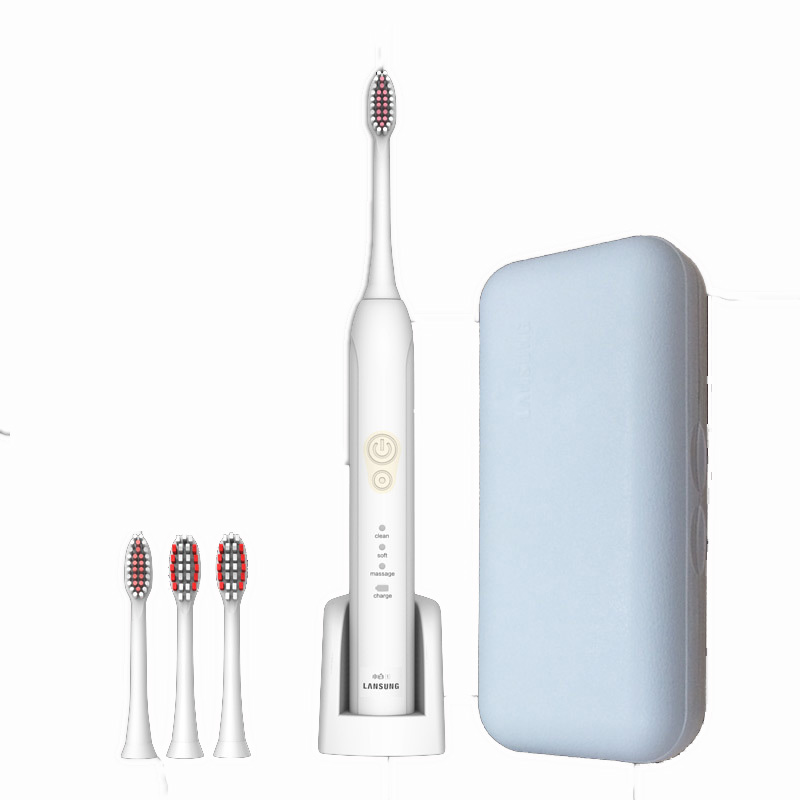 Magnetic levitation Electric Toothbrush IPX7 Waterproof Food Grade ABS Material 4 pcs Heads Tooth Brush food grade high temperature resisting 140 degree beer magnetic drive pump