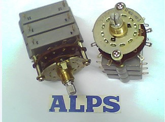2PCS/LOT ALPS Alps rotating band switch 4, 4 axis long 15MM