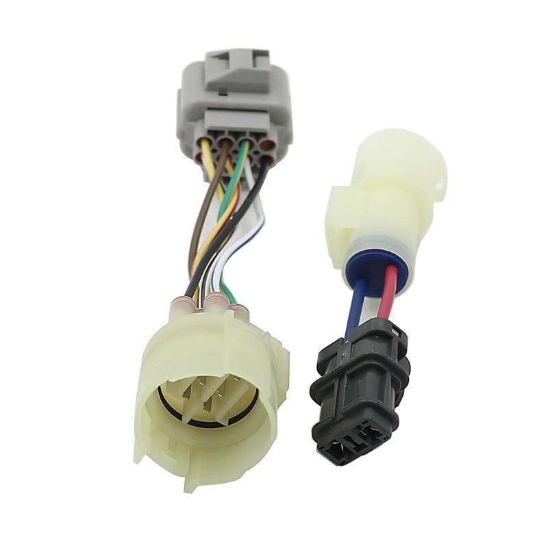 US $9.37 40% OFF|OBD0 to OBD1 Distributor Adaptor Harness Jumper plug on