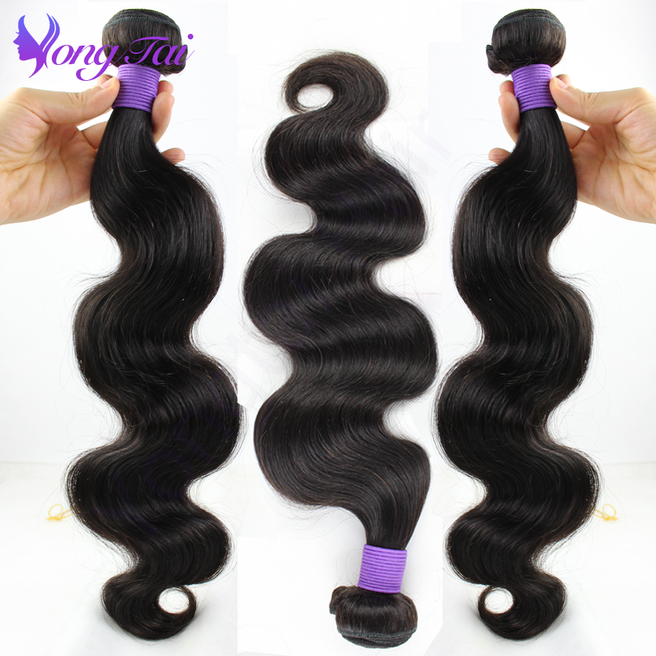 Brazilian virgin hair Body wave 3 Bundles Mixed 10 26 Inches Natural Color Remy Human Hair