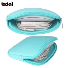 EDAL Earphones/Charger Power Bag Laptop Sleeve Notebook Adapter/Mouse Case Pouch Shockproof Digital Cable Storage Bags
