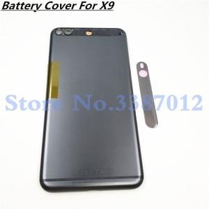 Image 1 - الأصلي 5.5 بوصة غطاء البطارية الخلفي الإسكان الغطاء ل HTC واحد X9u X9 عودة غطاء البطارية الباب الإسكان الخلفية حالة مع شعار