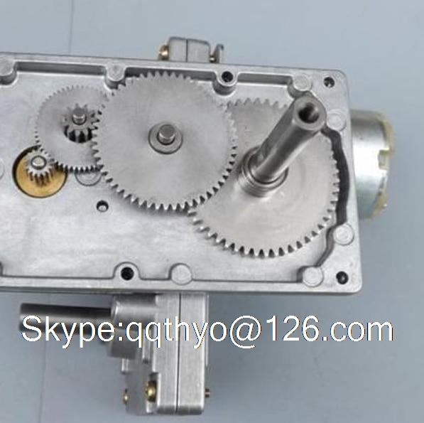 Freies Verschiffen Japan Takanawa 555 Metall Getriebemotoren 12 V-24 V DC Reduzierung Getriebemotor Hohes Drehmoment Niedriger Noise VEC31 T30