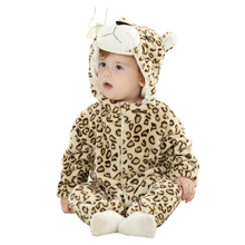 DOUBCHOW Baby Girls Boys Infant Toddler Cute Animal Tiger Bunny Duck Snowsuit Long Sleeve Rompers Cosplay Costume Baby Clothing
