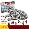 Горячие Строительные Блоки Лепин Star Wars 05007 Обучающие Игрушки Для Детей Лучший подарок на день рождения Коллекция Декомпрессии игрушки