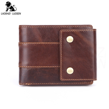 Men Standard Wallets Genuine Leather Short Coin Purse Fashion Hasp Wallet For Male Portomonee with Card Holder Photo Holder 2016 new wallet dc comics the flash short wallets with card holder photo holder purse cartoon wallet w323