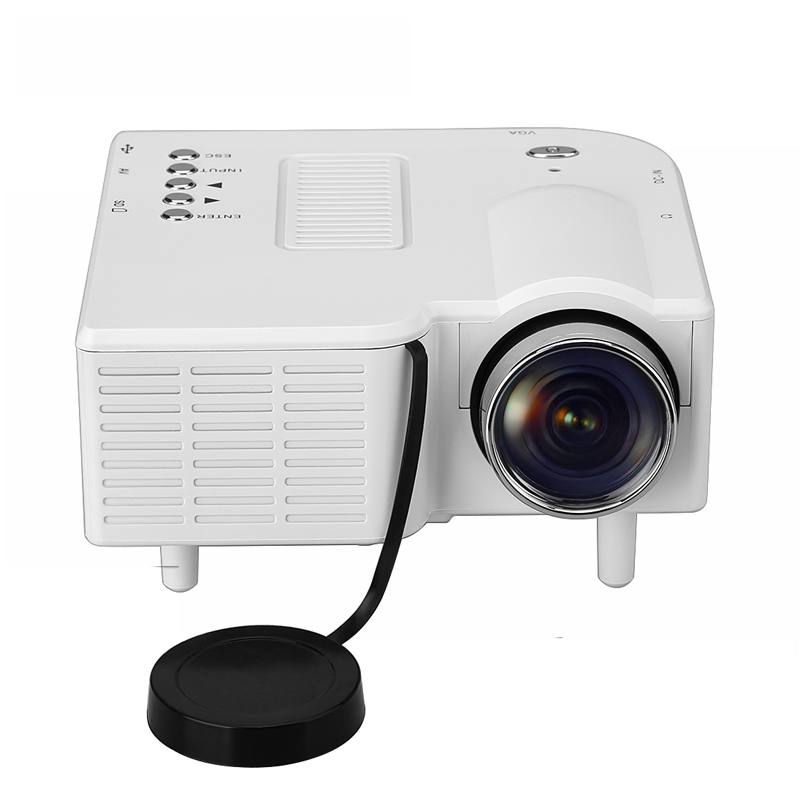 Household HD UC28 Mini Pico Projector Home Cinema Theater Digital LED LCD Projector VGA/USB/SD/AV/HDMI Multimedia Proyector unic uc40 mini portable projector hdmi home theater beamer multimedia proyector usb av sd hdmi ir video projector