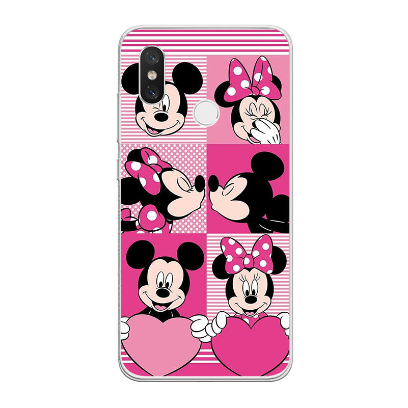 ciciber For Xiaomi MIX MAX3 2 1 S Pro TPU For Xiaomi A2 A1 8 6 5 X 5C 5S Plus Lite SE Poco Phone F1 Case Cute Mickey Mouse Coque